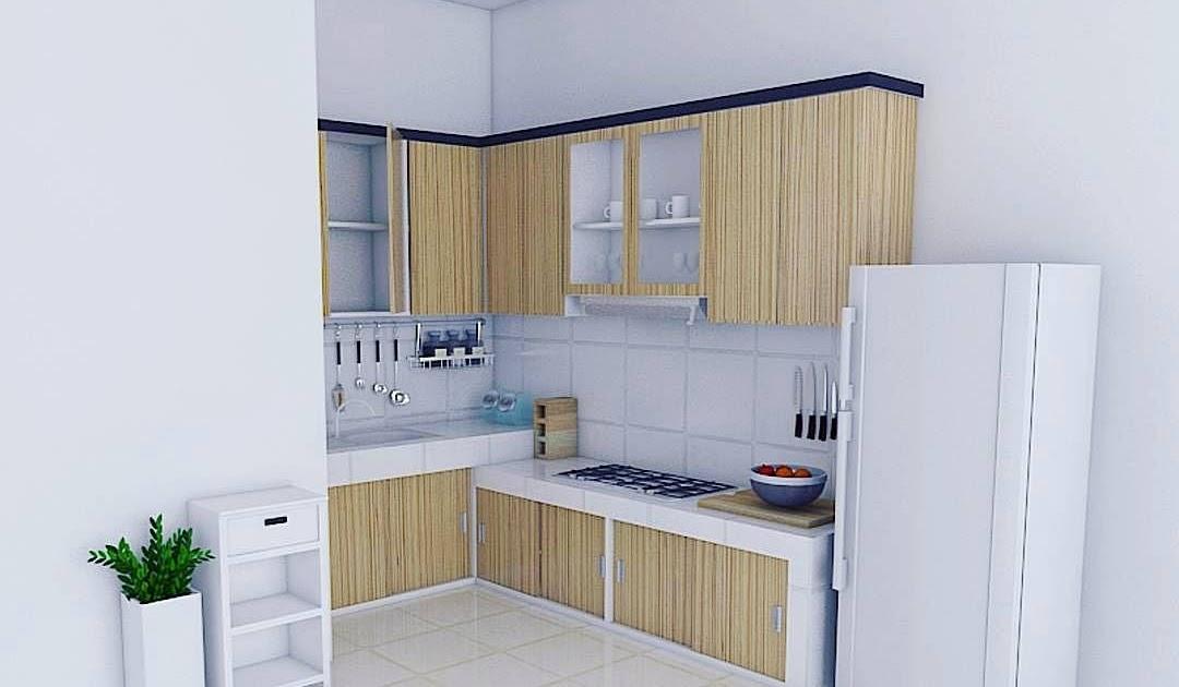 15 Gambar Kitchen Set Minimalis Modern Tren Terbaru