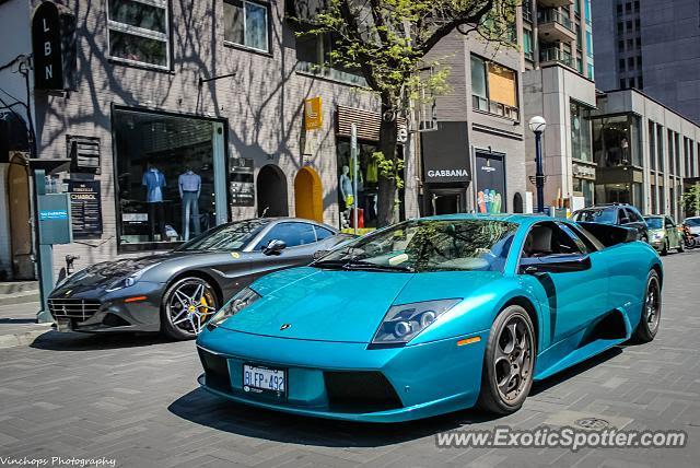 Lamborghini Murcielago spotted in Toronto, Canada on 05\/23