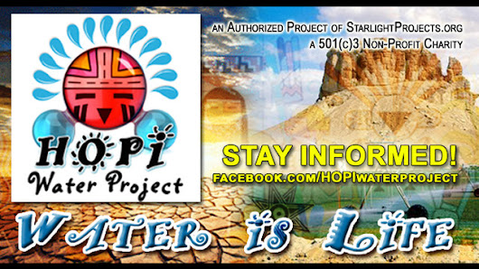 HOPI Water Project: Water is Life!