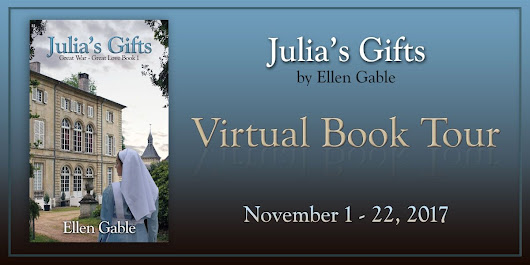 ~Blog Tour~ New Historical Fiction: Julia's Gifts