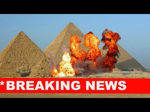Egypt's Armed Forces Demolish Pyramids