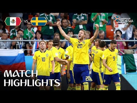 World Cup Match:Sweden Versus Mexico Full Highlights