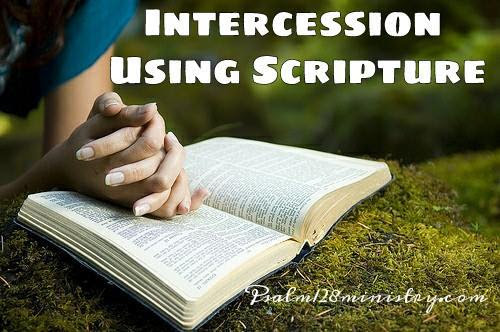 Intercession Using Scripture