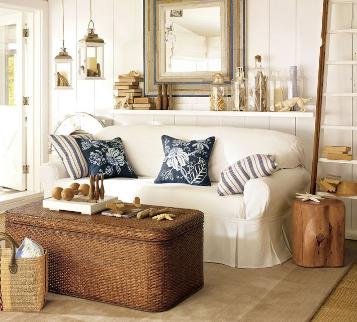 Coastal room...ahhh! Can I do it with a French twist?
