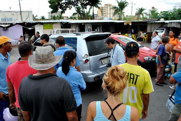Não foi encontrado arma nem droga no carro de Francis / Foto: Marcelo Paiva