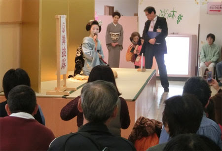 松菱 京都展,津松菱百貨店 物産展,京都展 舞妓さん,舞妓さん 踊り