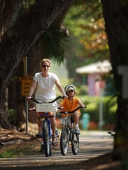 Providing safe paths increases outdoor activity among