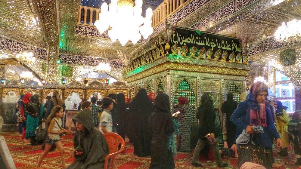 Non Muslim Perspective On The Revolution Of Imam Hussain: Muharram Mirror: Shrine Of Imam Hussain's Daughter In Lebanon