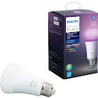 Philips - Hue White & Color Ambiance A19 Bluetooth Smart LED Bulb - Multicolor