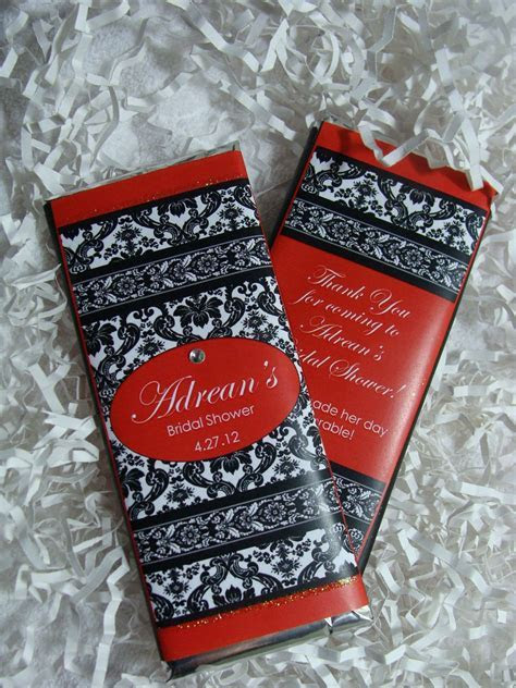 Wedding Candy Bar Wrappers   Chocolate Bars Favors