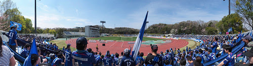 野津田陸上競技場パノラマ