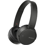 Sony ZX220BT Wireless On-Ear Bluetooth Headphones with 30mm drivers, Swivel Earcups, NFC One-touch, and Built-In Microphone, Black (New Open Box)