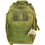 Every Day Carry Tactical Medic First Responder Backpack with Multiple Pockets - Green