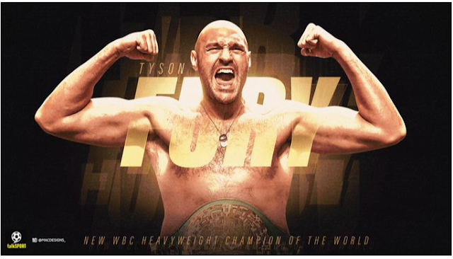 BREAKING!! FURY BATTERS WILDER TO BECOME NEW HEAVYWEIGHT CHAMPION