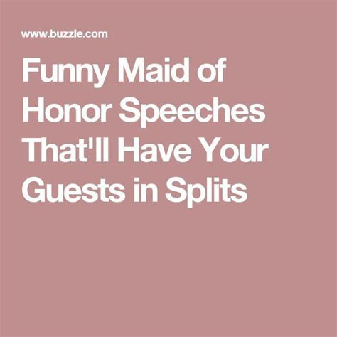 25  best ideas about Funny wedding speeches on Pinterest
