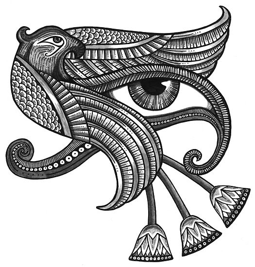 Egyptian Eye Tattoo Designs