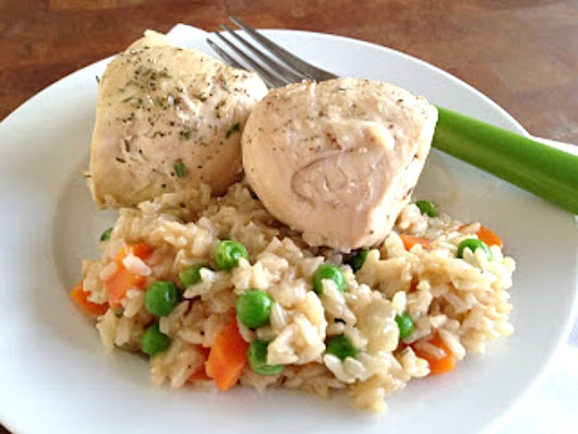 One Skillet Dinner Recipes: Chicken and Rice - Basilmomma