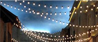 Cafe Lights for outdoor wedding - Weddingbee