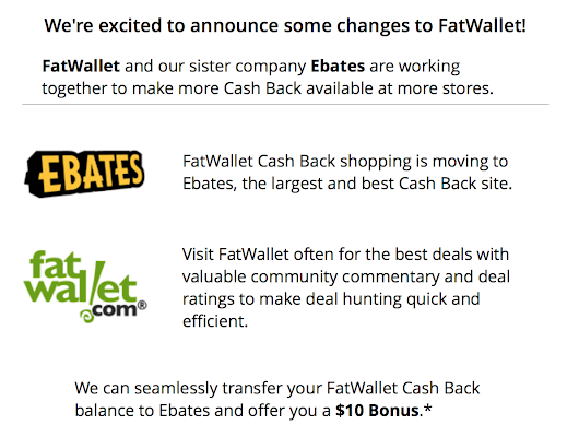 Free $10 From Fat Wallet & Ebates! - Angelina Travels