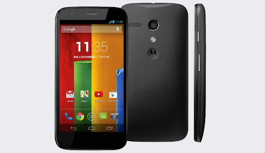Moto G 2nd Generation smartphone