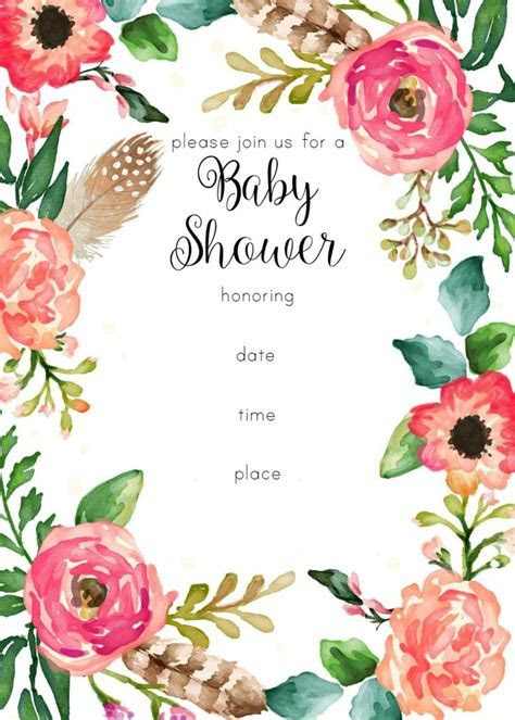 Best 25  Floral baby shower ideas on Pinterest   Baby girl