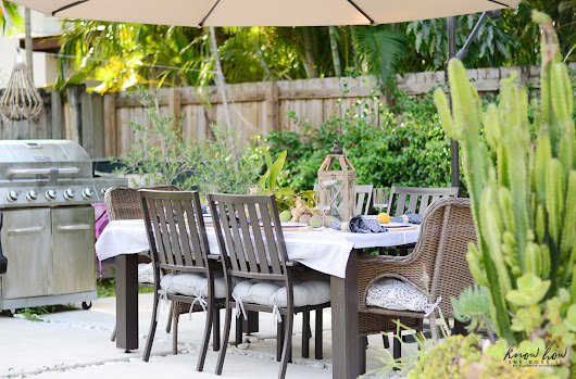 Summer outdoor living updates - Know How She Does It