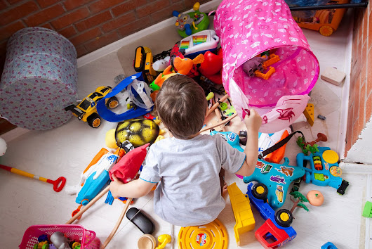 Simplifying with Kids:  Ten Tips for Decluttering Toys