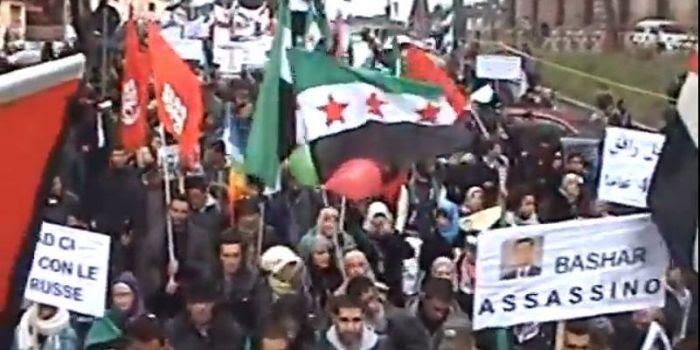 Potere al Popolo e la Siria: schiumano di rabbia...