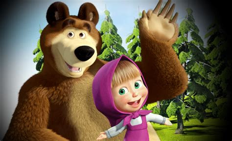 koleksi gambar lucu masha   bear gambargambarco