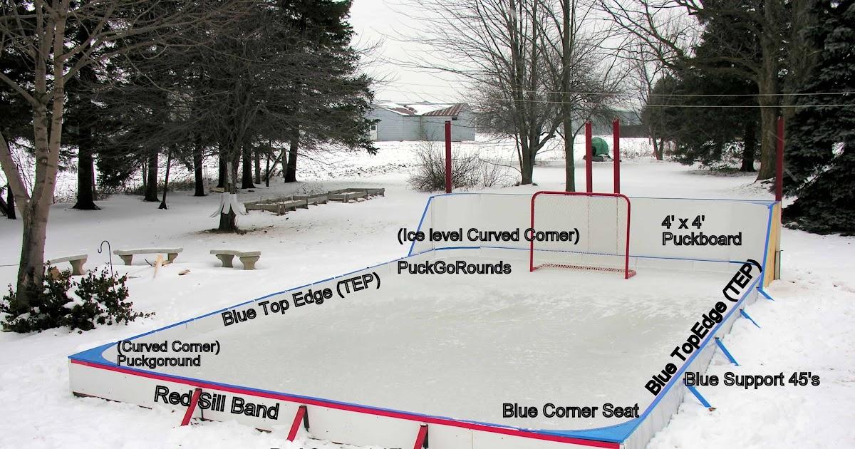 Backyard Ice Rink Liner Installation - Backyard Ideas