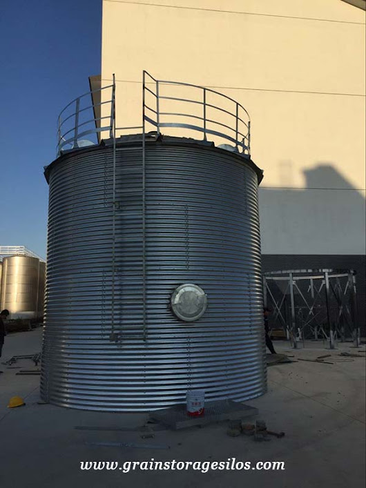 Pellet Silo - Professional Steel Silo Manufacturer, Supplier and Exporter
