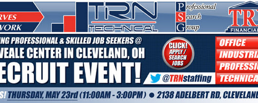 "MyWorkster ""Recruit Cleveland"": Alumni Career Expo (Thurs., May 23)"