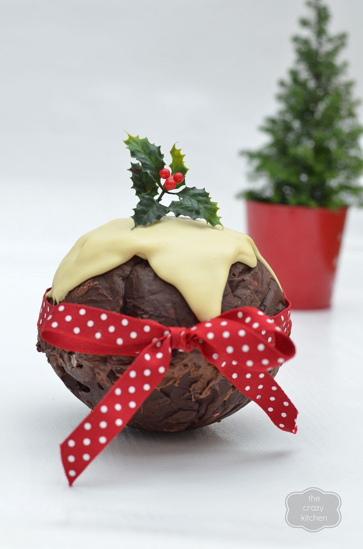 MInt Chocolate Christmas Pudding Rocky Road