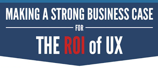Making a Strong Business case for the ROI of UX [INFOGRAPHIC] | Experience Dynamics