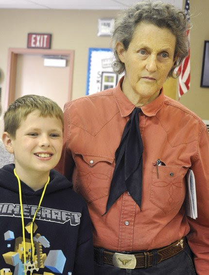 Grandin offers insights into Autism