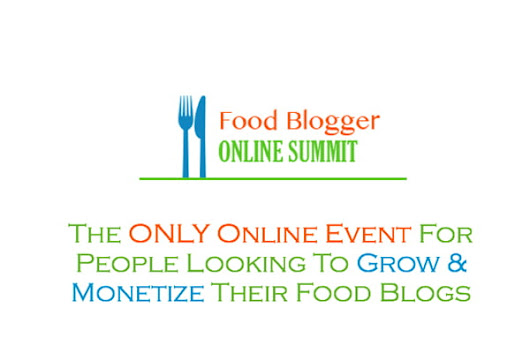 Food Blogger Online Summit Ticket Giveaway