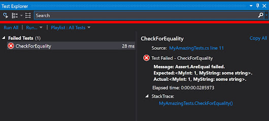 Assert.AreEqual in MSTest – done right