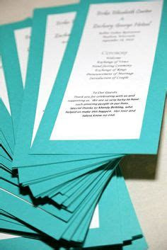 images  progrms  pinterest wedding programs