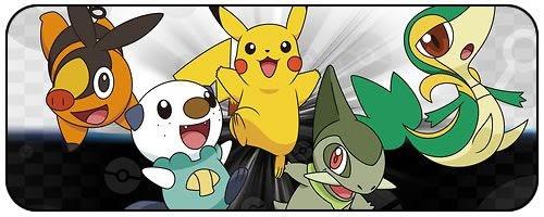 Pokémon Black & White em Fase de Dublagem