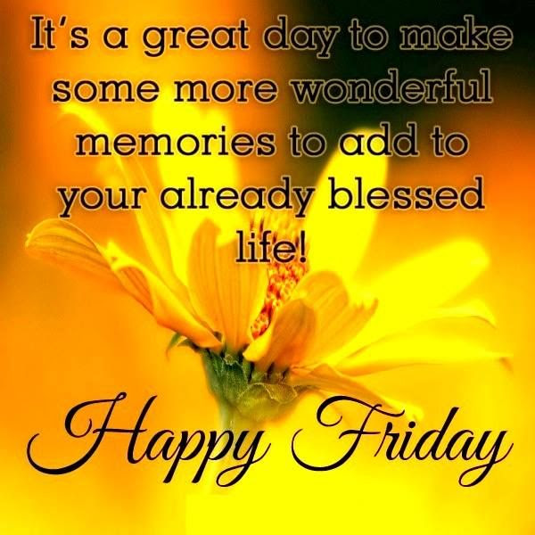 Good Morning Happy Friday Image Clip Art Library