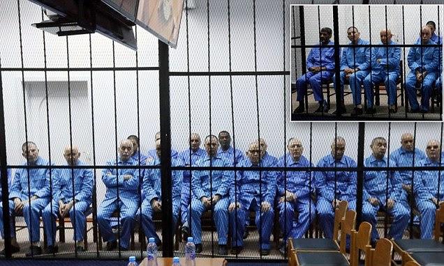 Gaddafi henchmen