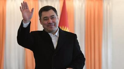 Президент Киргизии прибыл в Казахстан с государственным визитом