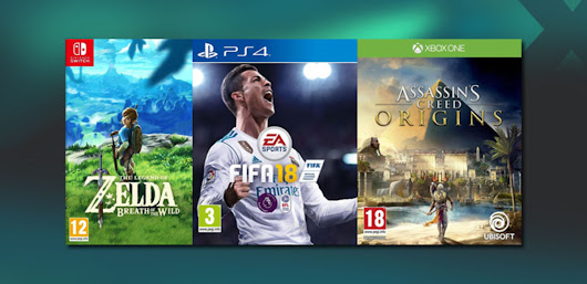 Get up to £40 Trade or £36 in CASH for Need for Speed, Star Wars, Mario Kart and others on PlayStation 4, Xbox One and Switch.