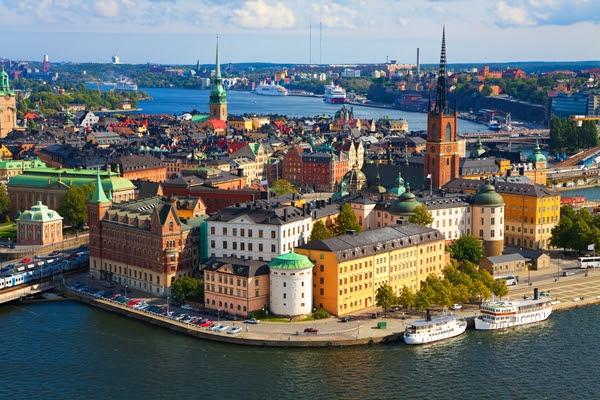 Stockholm als die schönste Stadt Skandinaviens
