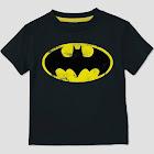 Extreme Concepts petiteToddler Boys' DC Comics Batman Short Sleeve T-Shirt - Black 4T, Boy's