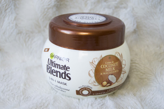 Garnier Ultimate Blends Coconut Milk Hair Mask | Uptown Oracle