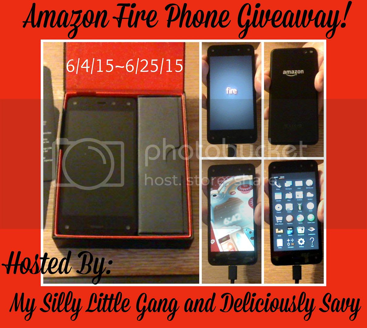 Enter the Amazon Fire Phone Giveaway. Ends 6/25