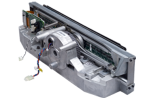 English: Printronix line matrix printer shuttl...