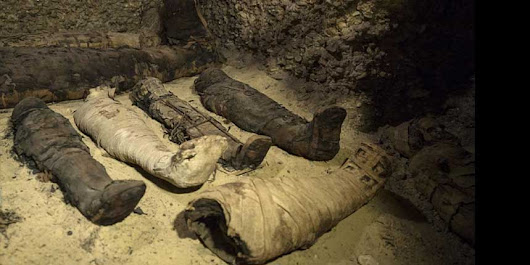 Egypt Unveils 40 Ancient Greek Mummies Including Of Children | Maza Inside
