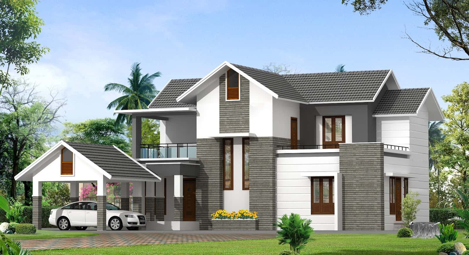 Magnificent Two-Story House Designs Kerala 1600 x 872 · 386 kB · jpeg